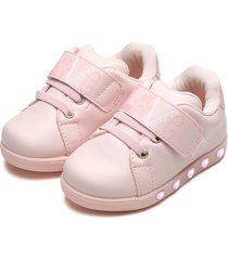 tãªnis pampili menina sneaker luz rosa - rosa - menina - dafiti