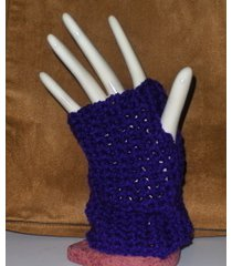 fingerless gloves hand warmers homemade crochet for texting typing arthritis