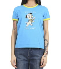 marc jacobs x magda archer blue t-shirt