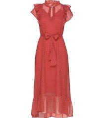 ricca dress jurk knielengte rood lollys laundry