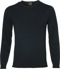 benvenuto pullover - modern fit - blauw