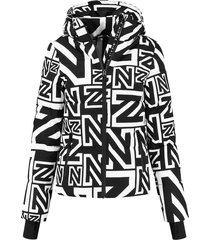 logo mix jacket