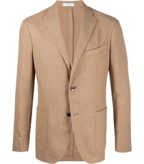 boglioli relaxed k-jacket blazer - brown