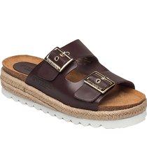sonja sandaletter expadrilles låga brun sweeks
