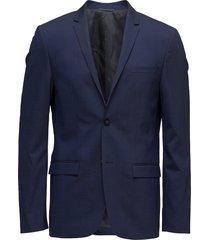 tirrell-bm stretch w blazer colbert blauw calvin klein