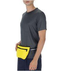 pochete adidas waistbag t4h - amarelo