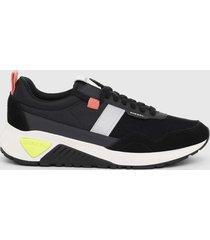 zapatilla s kb low run sneakers negro diesel