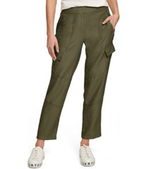 dkny cropped cargo pants