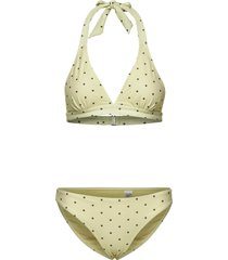 dotted embrace bikini bikini grön moshi moshi mind
