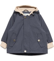 wally jacket, m outerwear rainwear jackets blå mini a ture