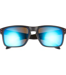 oakley holbrook 57mm sunglasses in black red blue at nordstrom