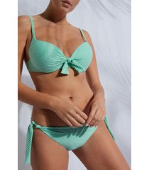 calzedonia graduated push up swimsuit top valencia woman green size 3