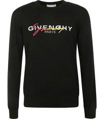 givenchy signature logo sweater