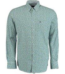commander overhemd groen langemouw 214007709/605