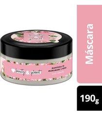 máscara de tratamento curls intensify manteiga de murumuru & rosa love beauty and planet pote 190g