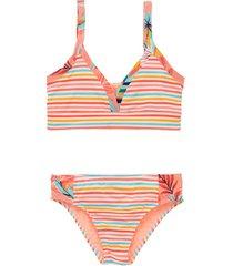 bikini rosado  offcorss