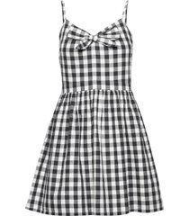 alice knot dress kort klänning svart superdry