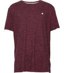 i logo softwash organic tee t-shirts short-sleeved lila banana republic