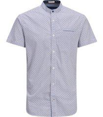jack & jones men's all over printed short sleeve shirt
