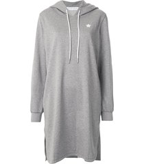 goodious oversized hoodie dress - grey