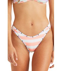 women's billabong break a dawn hike bikini bottoms