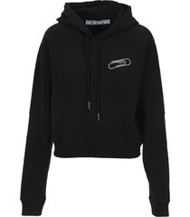 off white paper clip hoodie