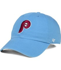 '47 brand philadelphia phillies core clean up cap