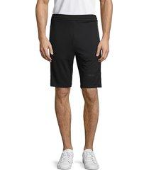 karl lagerfeld paris men's stretch pull-on shorts - navy - size xl