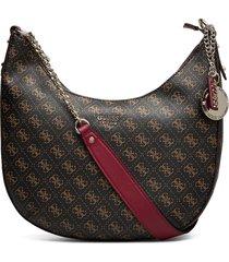aline hobo bags top handle bags bruin guess