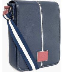 bolsa bennemann tiracolo azul