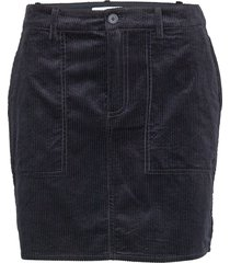kelly skirt 11153 kort kjol blå samsøe samsøe