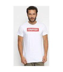 camiseta starter box logo masculina