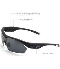 k2 polarized bluetooth sunglasses - noise reduction - dual headphones -