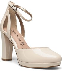 woms slip-on shoes heels pumps classic rosa tamaris
