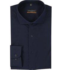 eterna dress hemd 8585 f182 blauw