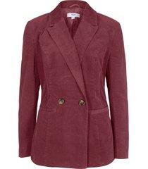 blazer in velluto elasticizzato maite kelly (rosso) - bpc bonprix collection