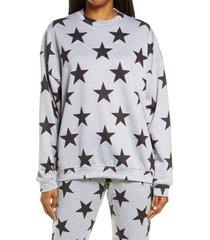women's onzie tie dye boyfriend sweatshirt