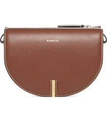 wandler nana leather shoulder bag
