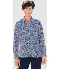 blouse paola wit::marine