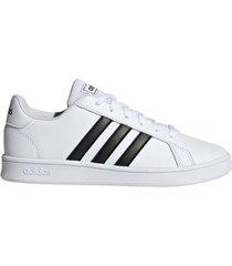zapatilla blanca adidas grand court