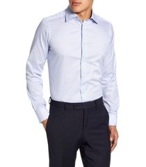 men's david donahue slim fit dress shirt
