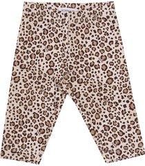 monnalisa animal print leggings