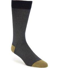 men's ted baker london textured socks, size one size - green