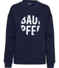 jaala sweat-shirt trui blauw baum und pferdgarten