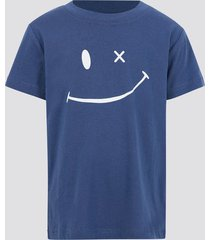 t-shirt i bomull - marinblå