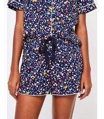 loft heart pajama shorts