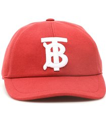 burberry jersey baseball cap with monogram