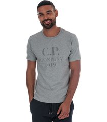 c.p. company mens reflective logo t-shirt size xl in grey