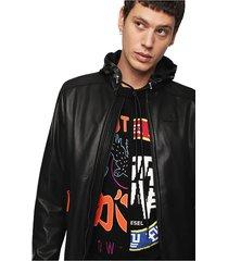 chaqueta l restil jacket negro diesel