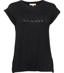 dreamer t-shirt t-shirts & tops short-sleeved svart soft rebels